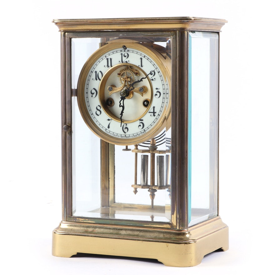 "Waterbury Clock Co.""Granville""  Regulator Clock, Mid to Late 20th Century"