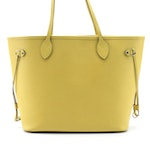 Louis Vuitton Neverfull MM in Pistache Epi Leather with Pochette