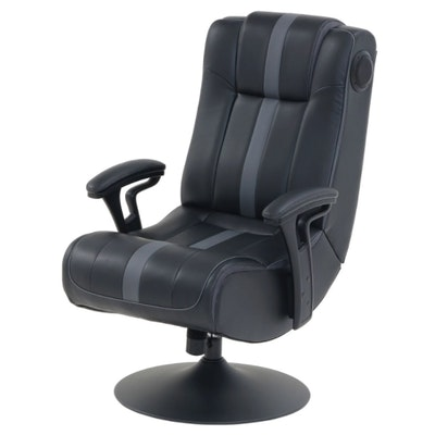 True Innovations Pedestal Gaming Chair with Built in Sound and Vibration System