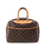 Louis Vuitton Deauville Travel Bag in Monogram Canvas