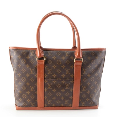 Louis Vuitton Sac Weekend Bag in Monogram Canvas