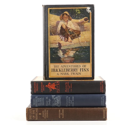 "N. C. Wyeth Illustrated ""The Last of the Mohicans"" and More Illustrated Classics"