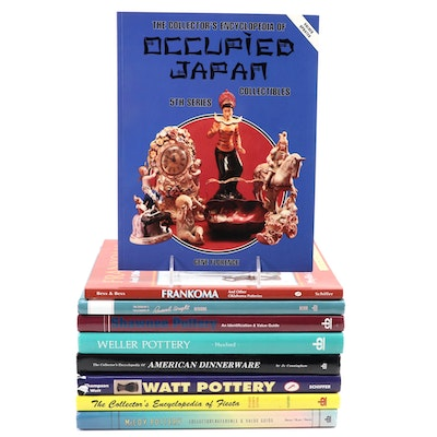 American and Japanese Pottery and Dinnerware Reference Books