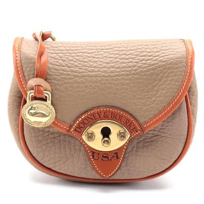 Dooney & Bourke Cavalry Two-Way Crossbody Belt Bag in All-Weather Leather