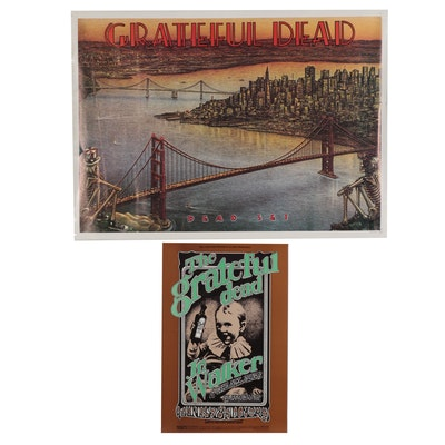 Grateful Dead Posters after Randy Tuten, Dennis Larkins, and Peter Barsotti