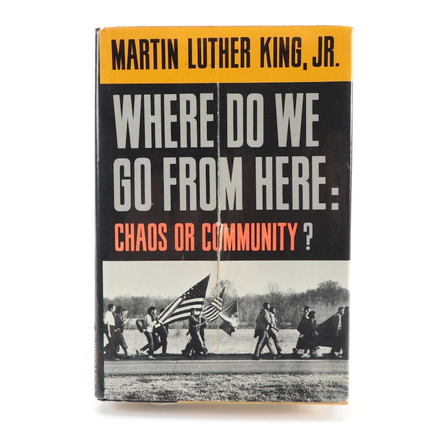 """Martin Luther King, Jr. Signed First Edition """"Where Do We Go from Here"""" with COA"""