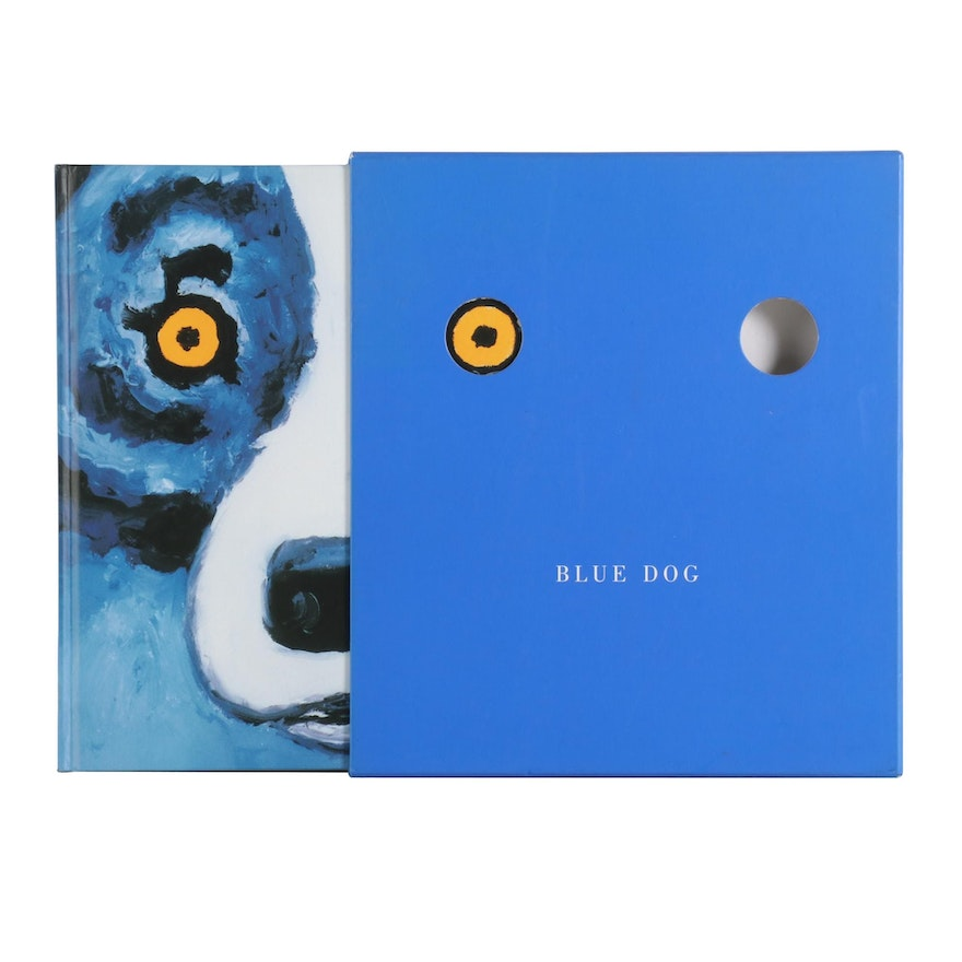 """Illustrated First Edition Thus """"Blue Dog"""" by George Rodrigue, 2000"""