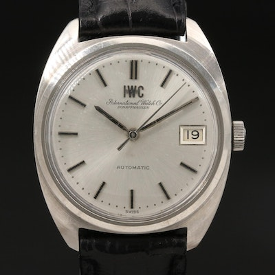 "1970 IWC ""Yacht Club"" Stainless Steel Automatic Wristwatch"