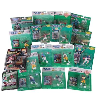 Hasbro Starting Lineup NFL Action Figures Including Bettis, Favre, Montana