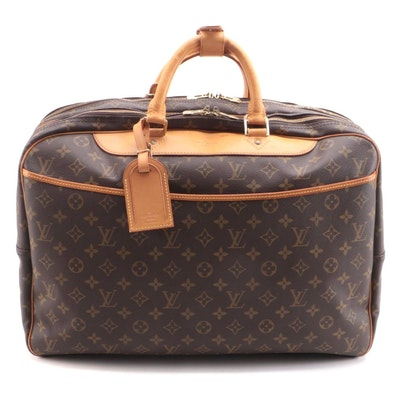 Louis Vuitton Alize 24 Heures Soft Suitcase in Monogram Canvas