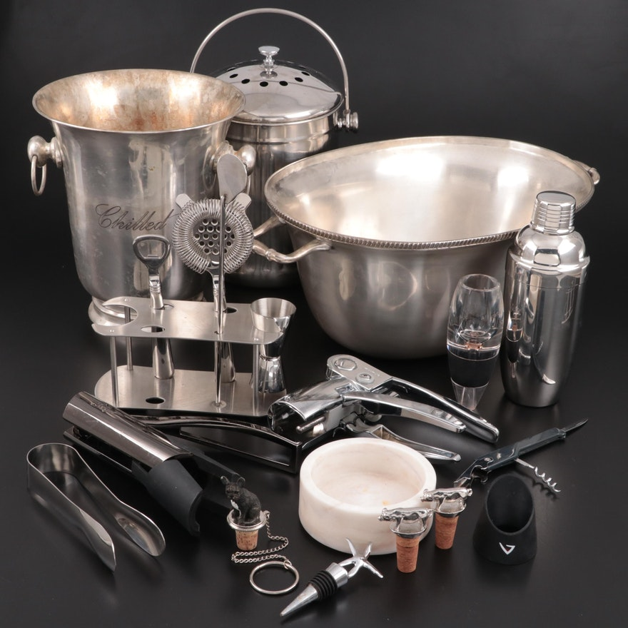 Endurance Stainless Steel Compost Pail and Other Barware
