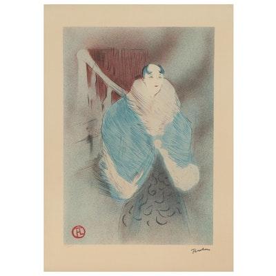 Color Lithograph after Henri de Toulouse Lautrec, Late 20th Century