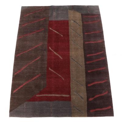 8'9 x 11'3 Hand-Knotted Tufenkian Tibetan Wool Area Rug