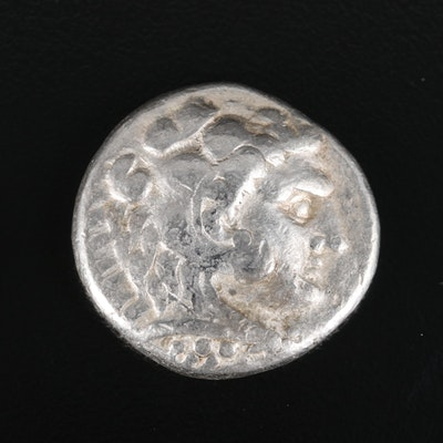 "Ancient Macedonia AR Tetradrachm Coin of Alexander ""The Great"", ca. 317 B.C."