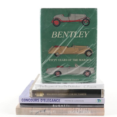 """""""Bentley: Fifty Years of the Marque"""" and More Luxury Car Reference Books"""