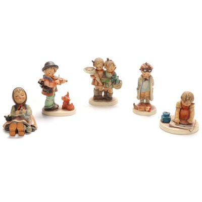 "Goebel ""Doctor"", ""Puppy Love"" and Other Porcelain Hummel Figurines"