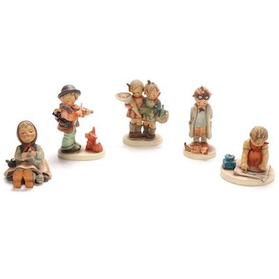 "Goebel ""Doctor"", ""Puppy Love"" and Other Porcelain Hummel Figurines"