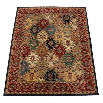 "7'5 x 9'5 Hand-Tufted Safavieh Indian ""Heritage"" Wool Area Rug"