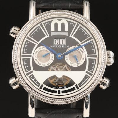 Maurice Blum Triple Calendar Wristwatch
