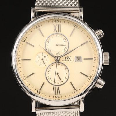 Adee Kaye Triple Calendar Wristwatch