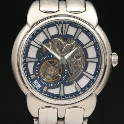 Wohler Skeleton Dial Wristwatch