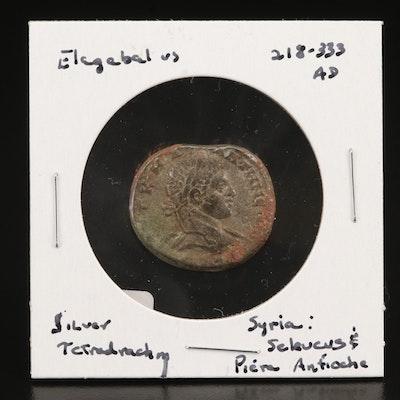 Elagabalus AR Tetradrachm. Syria, Antioch Mint, 218-235 AD