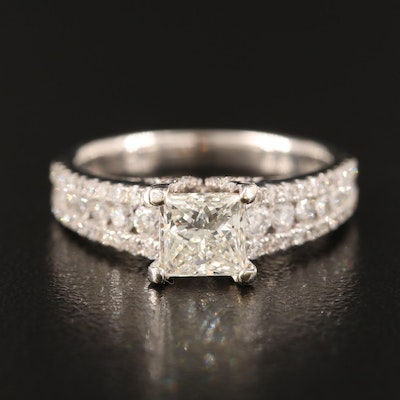 18K 2.00 CTW Diamond Ring