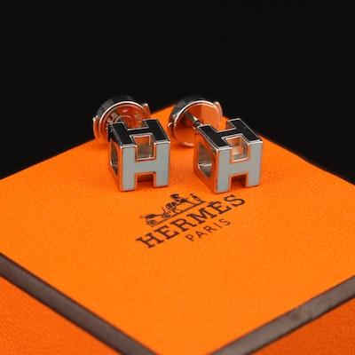 """Hermès """"H Cube"""" Earrings"""