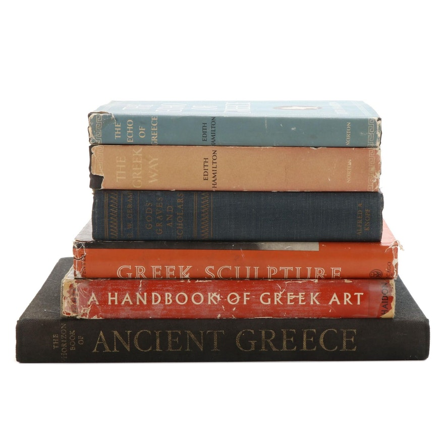 """""""The Echo of Greece"""" and More Books on Ancient Greek Art and Culture"""