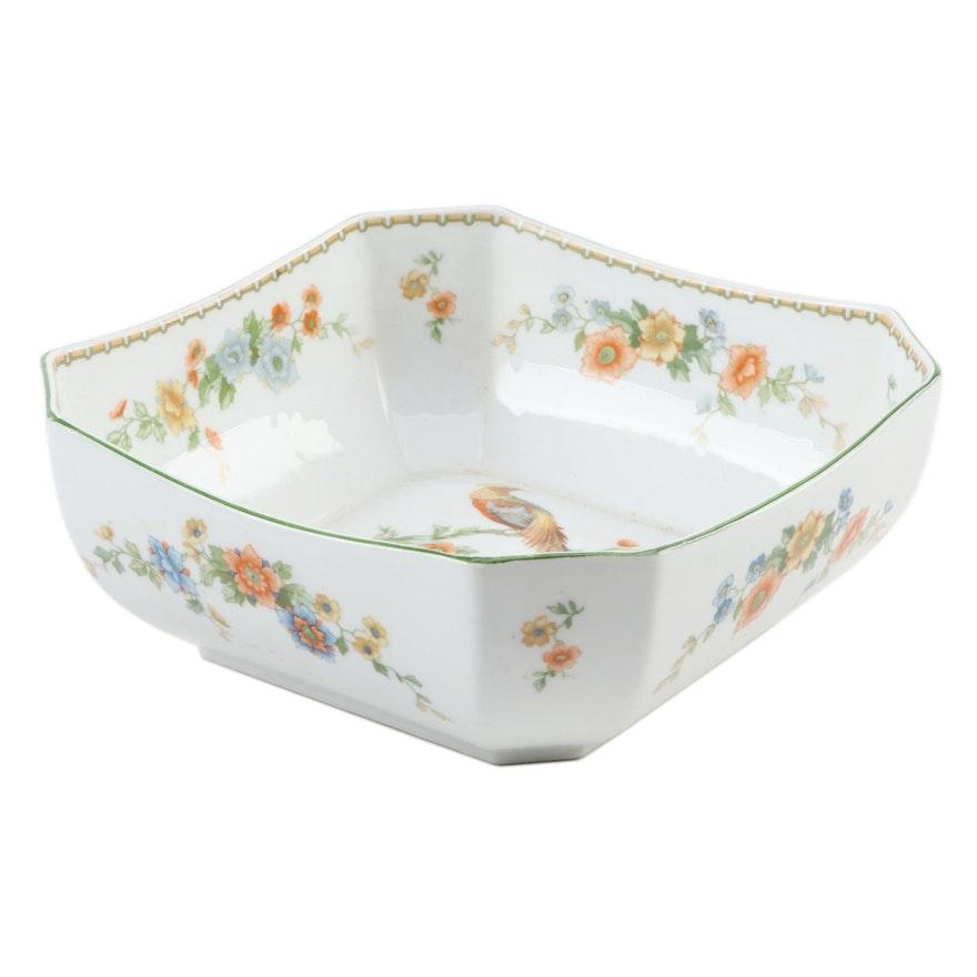 "Moritz Zdekauer ""Golden Pheasant"" Porcelain Serving Bowl, 1909–1922"