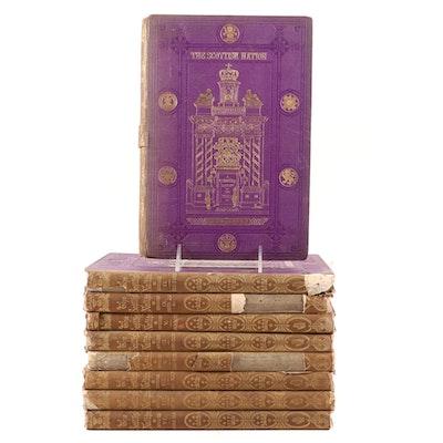 """The Scottish Nation"" Vol. I–IX by William Anderson, 1872"