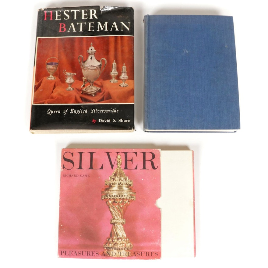 """First Edition """"Hester Bateman"""" by David Shure and More Silversmith Books"""