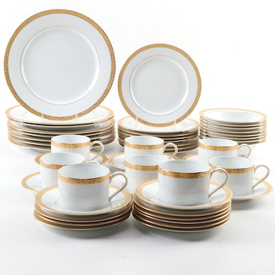 "Nikko ""Gold Filigree"" Porcelain Dinnerware, 1993–2013"