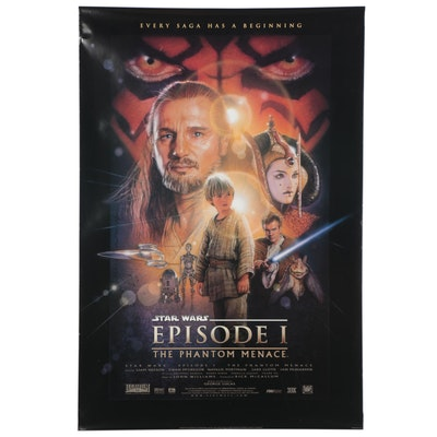 """Star Wars: The Phantom Menace"" Offset Lithograph One-Sheet"