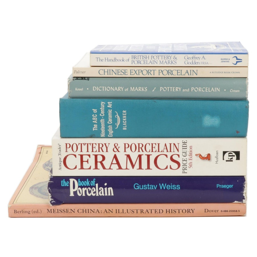 """""""The Book of Porcelain"""" and More Books on Ceramics and Collecting"""