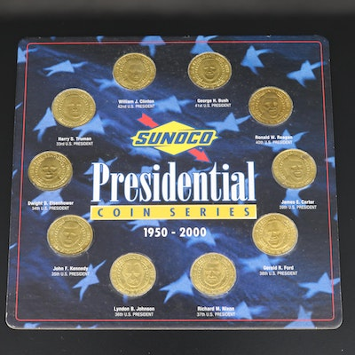 """Presidential Coin Series"" Commemorative Medals"