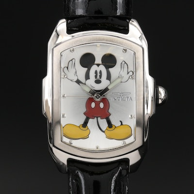 Invicta Mickey Mouse Limited Edition Wristwatch