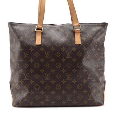 Louis Vuitton Cabas Mezzo Tote in Monogram Canvas