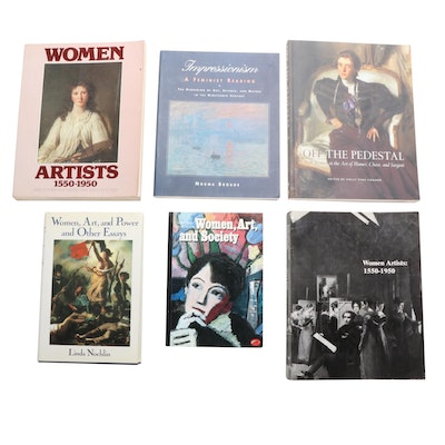 """Women Artists: 1550–1950"" by Harris and Nochnlin and More Art History Books"