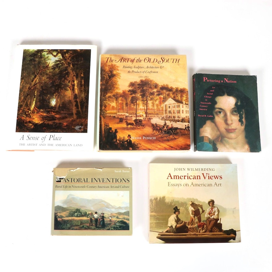 """""""American Views,"""" """"Pastoral Inventions,"""" and More Books on American Art History"""