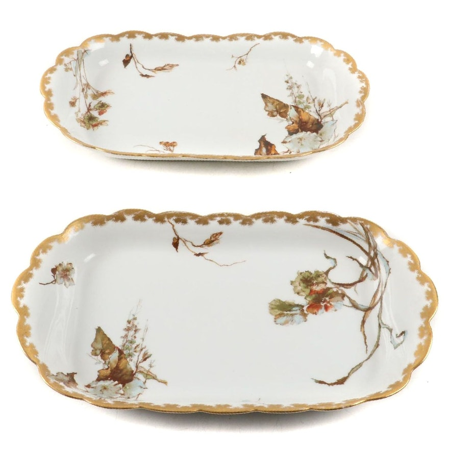Haviland Limoges Porcelain Oval Serving Dishes, Late 19th/Early 20th Century