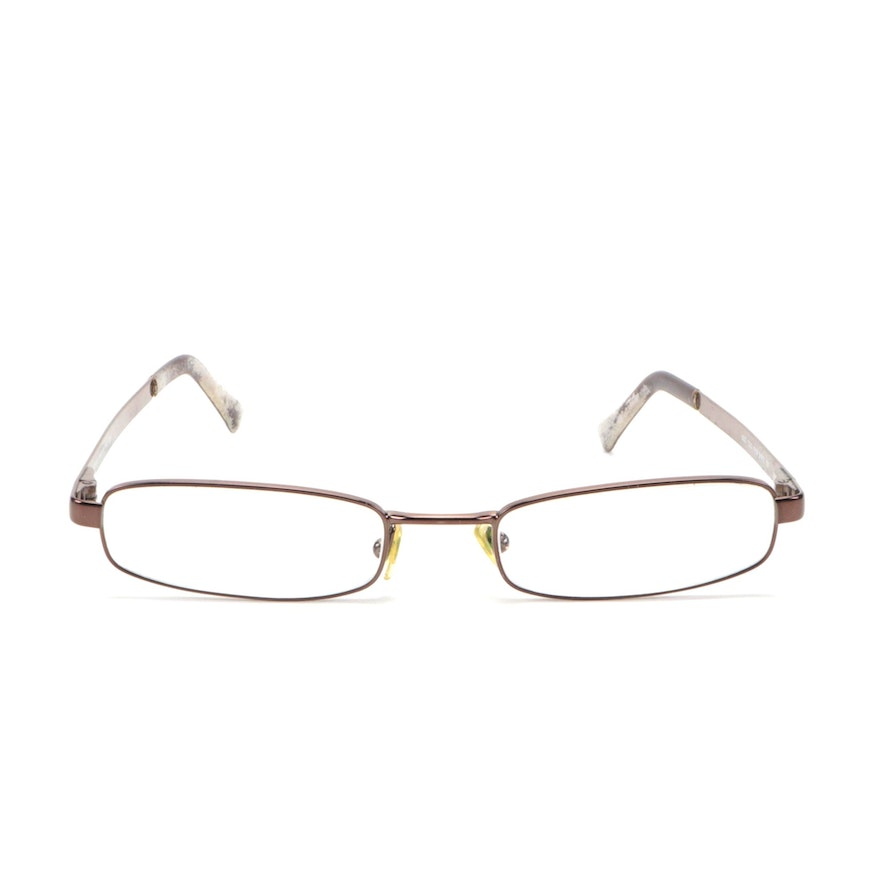 Versace Mod. 1003 Rectangular Eyeglasses with Case