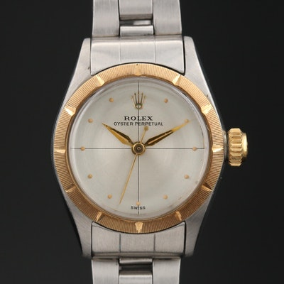 "1961 Rolex Oyster Perpetual ""Zephyr"" Wristwatch"