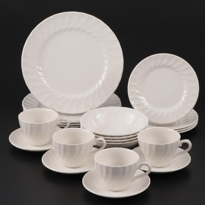 "Churchill ""Chelsea White"" Ceramic Dinnerware"