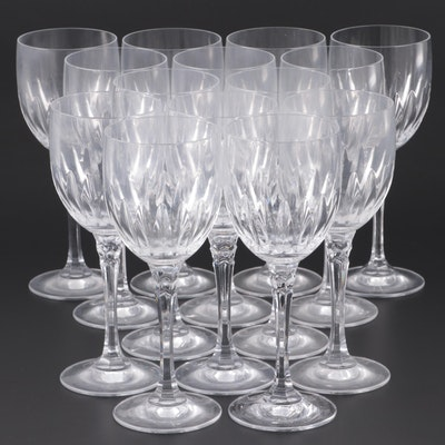 Crystal Wine Glasses, Late 20th Century