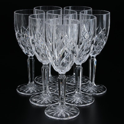 "Marquis by Waterford ""Brookside"" Crystal White Wine Glasses and More"