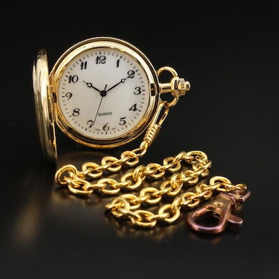 Iowa Statehood Quarter Pocket Watch