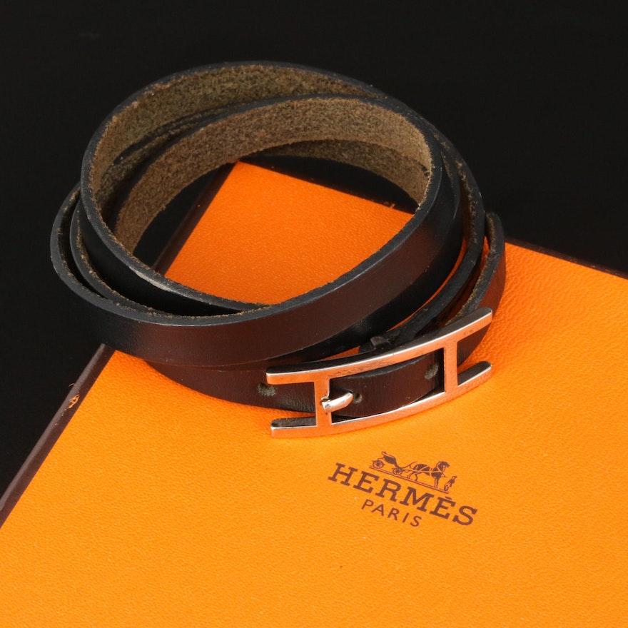 """Hermès """"Hapi"""" Quadruple Wrap Bracelet"""