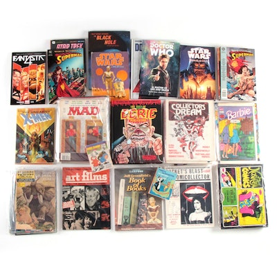 Graphic Novels, Comic Books, Mad Magazines, and More