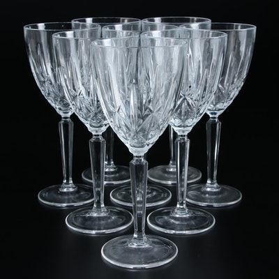 "Marquis by Waterford ""Sparkle"" Crystal Water Goblets"